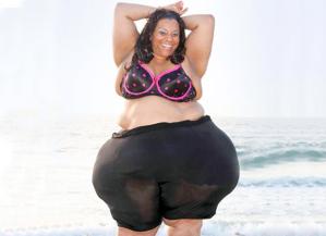 Esta es la mujer con las caderas más grandes del mundo (Fotos para morirse)