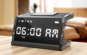 Con este reloj siempre te vas a despertar (Foto+corriente)
