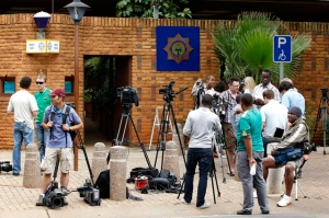 Pistorius informa por primera vez de su paradero tras ser liberado con fianza
