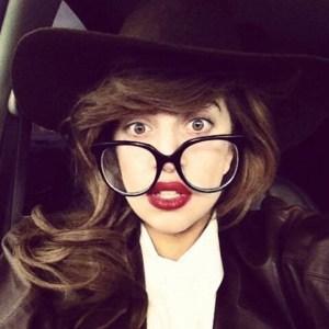 Esta es la foto más hipster de Lady Gaga