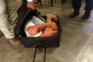 Mujer intentó sacar reo de Yare II en maleta de viaje