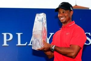 Tiger Woods ganó su cuarto título de la temporada