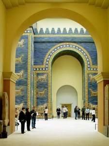 Localizan en Irak una puerta semejante a la Ishtar de la antigua Babilonia