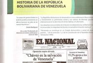 INSÓLITO: Gobierno publica satírica portada del Chigüire Bipolar en libro de historia de Venezuela