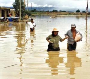 Alrededor de cuatro mil personas fueron evacuadas por inundaciones