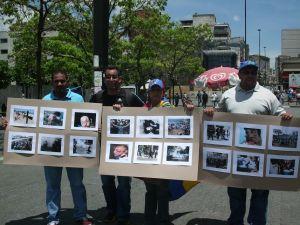 Progreso Social realiza exposición de fotos de represión y tortura