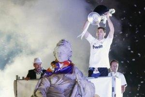 Iker Casillas canta feliz y ebrio en Las Cibeles (Video)
