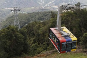 Teleférico de Mérida reanudó sus ascensos de turistas hasta la estación de Loma Redonda #24Ago