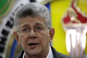 Henry Ramos Allup lamentó la muerte del diputado por AD, Hernán Alemán