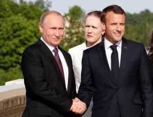 Macron recibe este lunes a Putin para avanzar sobre Ucrania e Irán