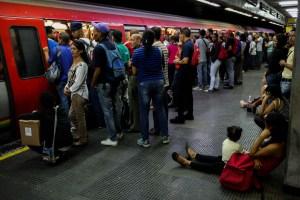 Metro de Caracas informó que Línea 1 presta servicio tras descarrilamiento en Los Dos Caminos