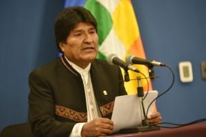 Evo Morales acepta ayuda internacional y suspende campaña electoral por incendios forestales