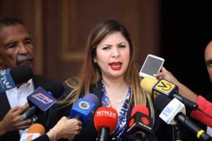 Nora Bracho condenó acoso y despidos de trabajadores de la AN por parte de Jorge Rodríguez