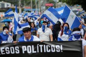 Oposición de Nicaragua reta a Ortega en la calle un año después de inicio de protestas