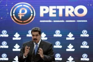 Maduro pretende que el petro sea un ecosistema autónomo fuera de la regulación del BCV