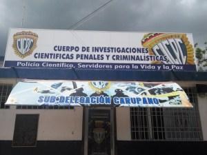 Cicpc detiene a dos presuntos homicidas en Carúpano