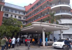 Las consultas en el Hospital Universitario de Caracas fueron suspendidas por el mega apagón rojo #23Jul