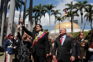 Los 29 nombres involucrados en las primeras sanciones del Tiar al régimen de Maduro