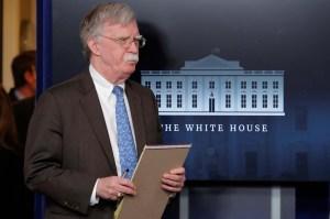 Bolton: Sanciones a Bandes afectarán movimientos de divisas de Maduro y sus cómplices