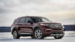 Vistazo a la nueva Ford Explorer 2020… que se estaciona sola (FOTOS)