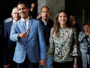 ALnavío: Fabiana Rosales recibirá en Nueva York el premio que la revista Time otorga a Juan Guaidó