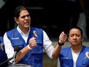 El contundente mensaje de Lester Toledo al Régimen por supuesta corrupción en ayuda humanitaria