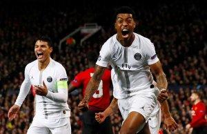 PSG le hizo vivir una pesadilla al Manchester United en el Teatro de los Sueños