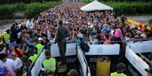 Vicepresidenta colombiana: Migración de venezolanos es el desafío más grande en este momento