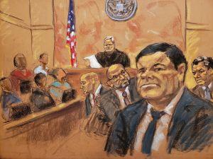 """Tribunal escuchó argumentos de la defensa de """"El Chapo"""" Guzmán, quien ansía la libertad"""