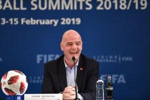 Presidente de la Fifa es optimista sobre Mundial de Catar en 2022 con 48 equipos