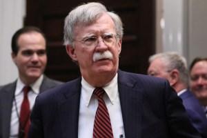 """Bolton advierte que EEUU utilizará todas """"sus herramientas"""" para detener a Maduro"""