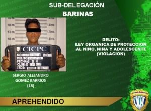 El modus operandi de violador de niños en Barinas