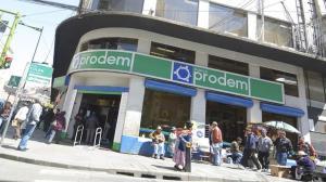 Bolivia dice que sanción de EEUU a Bandes no afecta a Prodem