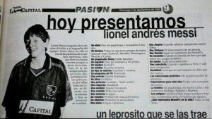 Revelan inédita entrevista de Messi a los 13 años: La humildad es lo que no debe perder nunca el humano
