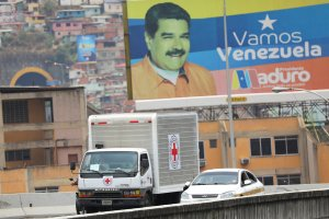 Con el ingreso de la ayuda a manos de la Cruz Roja INTERNACIONAL, chavismo acepta la grave crisis humanitaria