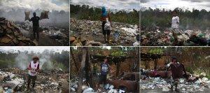 Escarbar en un basurero de Pacaraima…la miserable vida de los venezolanos que huyeron del saqueo chavista (FOTOS)