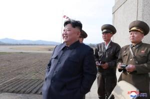 Kim Jong Un supervisó pruebas de nueva arma táctica guiada