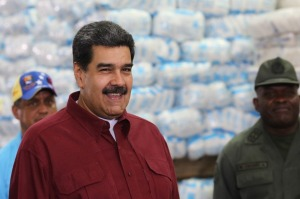 """Maduro le dice a Bolton que sanciones al BCV le dan """"más fuerza"""" (VIDEO)"""