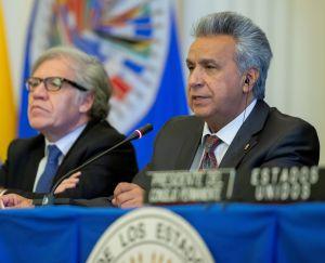 Lenín Moreno justifica acción multilateral en Venezuela