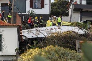 Al menos 28 muertos en un accidente de autobús turístico en Madeira