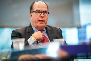 Comisionado Julio Borges pide a comunidad internacional más presión al régimen de Maduro