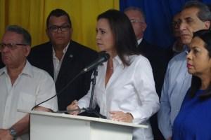 María Corina: Nuestros aliados tienen fuerzas muy superiores a las que respaldan a Maduro