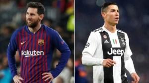 ¡Se prendió la polémica! Messi y Cristiano protagonizan portada de revista francesa con un BESO apasionado