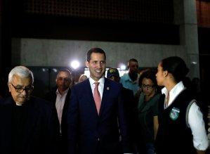 EN VIDEO: Así recibieron a Juan Guaidó en la Ucab durante el acto Propuestas para el Plan País #24May