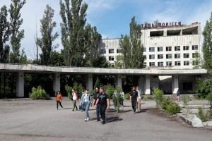 El turismo a Chernóbil registra un nuevo récord en lo que va de año