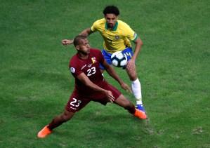 VAR-baro… El empate que sacó la Vinotinto contra Brasil