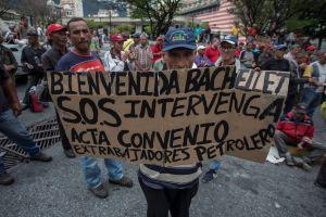 Denuncias suenan más fuerte en vísperas de la llegada de Bachelet a Venezuela