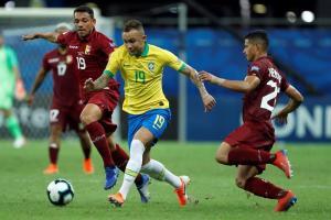 Jugadores de Brasil coinciden en que chocaron ante una Venezuela muy defensiva