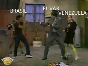 El VAR no solo ayudó a la Vinotinto ante Brasil, también reventó los Memes (FOTOS + JEJE)