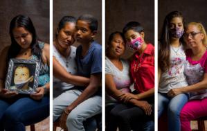 Los retratos de los niños que esperan por un trasplante de médula en Venezuela